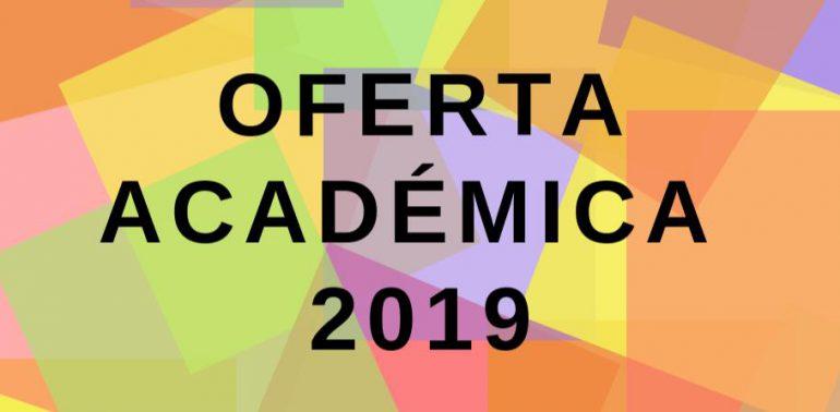 Oferta académica 2019